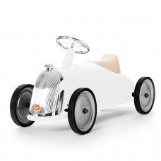 Ride-On Rider White