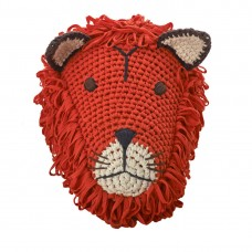 Knitted Lion Head Deco