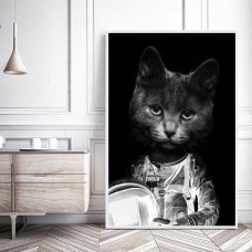 Astrocat Print with Frame