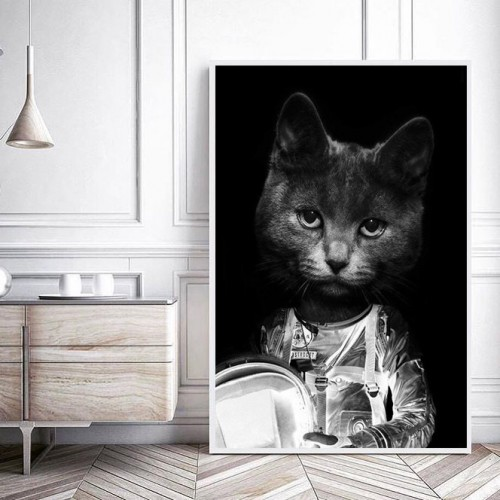 Astrocat Framed Print