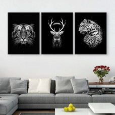 Safari Print with Frame