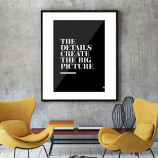The Details Framed Print