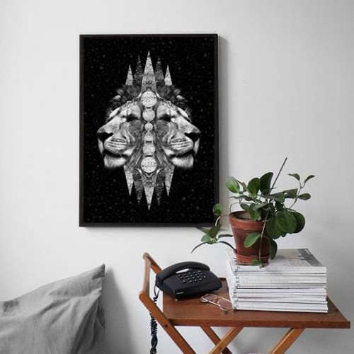 Universe Kings Framed Print