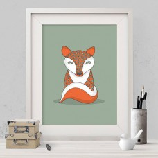 Crafty Fox Print