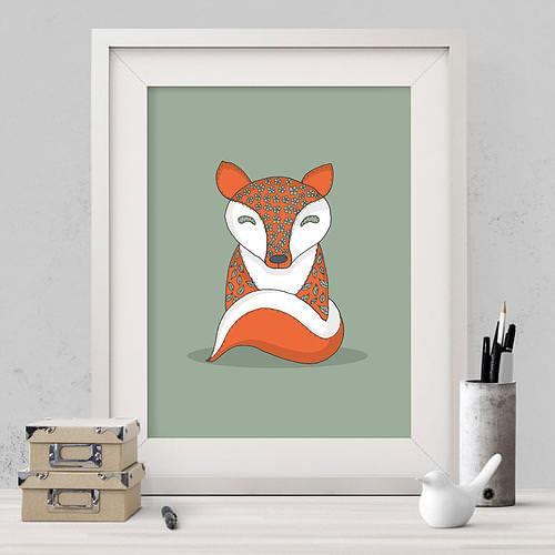 Crafty Fox Print