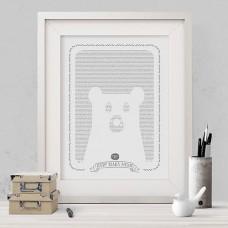 Teddy Bears Picnic Story Print