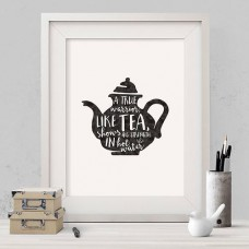 Warrior Tea Print