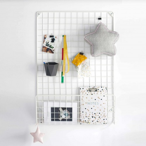 White Wall Organizer
