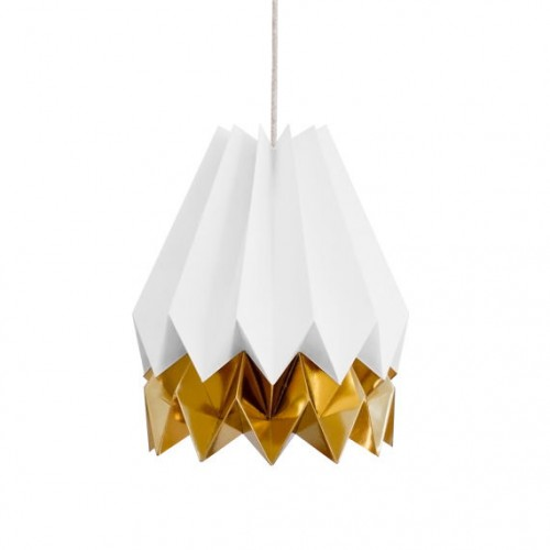 Origami Lampshade- 2 Tone Gold