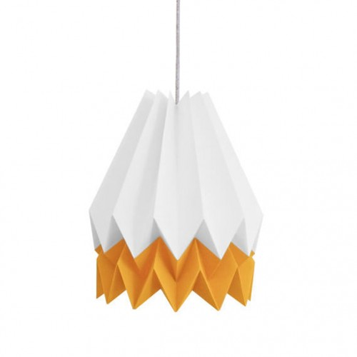 Summer Origami Lampshade Yellow