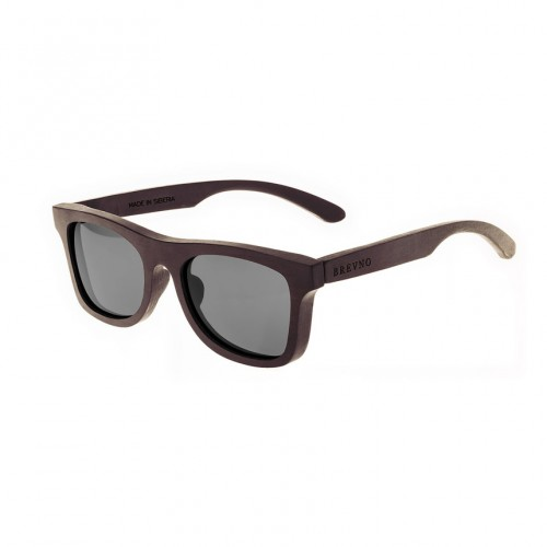 Klassika Black Wooden Sunglasses