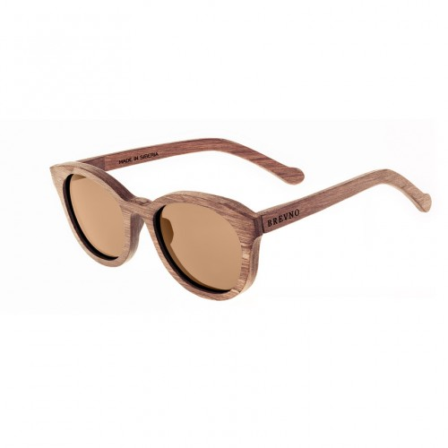 Lisa Siberian Wooden Sunglasses