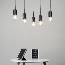 Cero 5 Group Pendant Lamp - Black