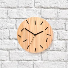 Primary Wall Clock - Fallen