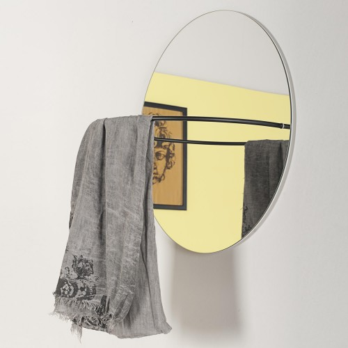 Loop Mirror Coat Rack