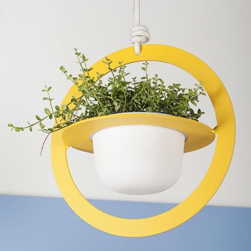 Large Saturno Pendant Vase