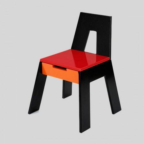 Kids Storage Chair