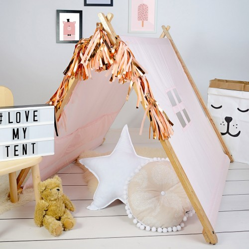 A-Frame Playhouse Tent - Pink