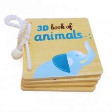 3D Book of Safari Animal - AR Technology