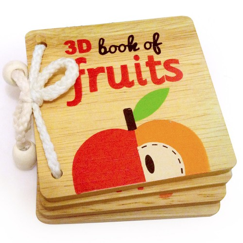 3D Book of Fruits - AR Technology