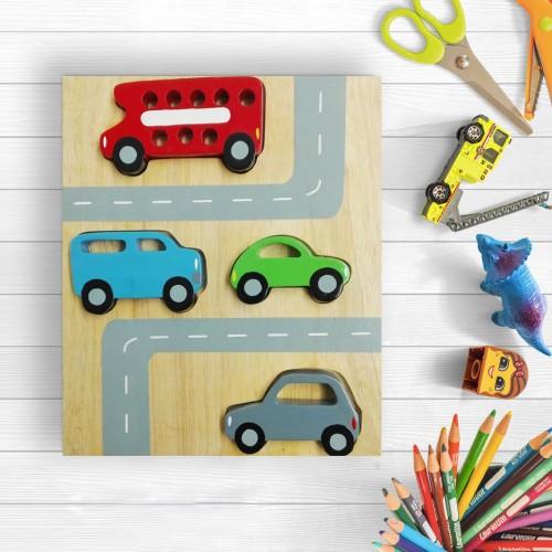 2in1 Car Puzzle