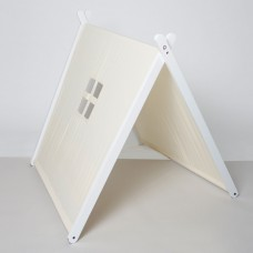 White Collapsible Play Tent - White