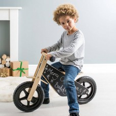 Balance Bike with Black Board Finish
