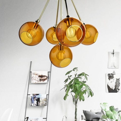Ballroom Molecule Ceiling Light