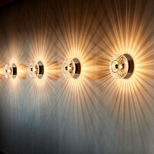 Wave Optic Wall Light- Large