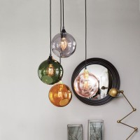 Ballroom M Glass Pendant Light