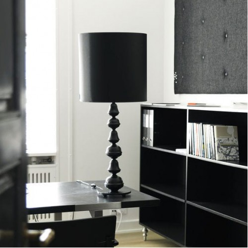 Black Sheik Table Lamp