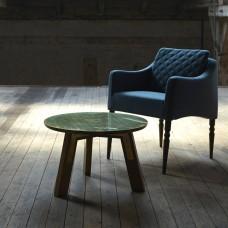 Skinny Size Zero Leather Chair