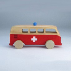 VW Kombi Ambulance Toy Car