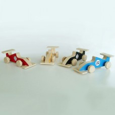 F1 Wooden Toy Car