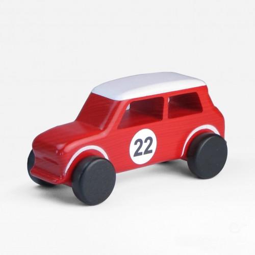 Austin Mini Wooden Toy Car