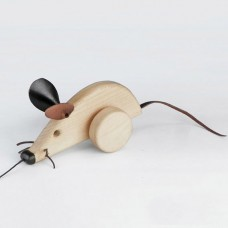 Pull Along Mouse Toy
