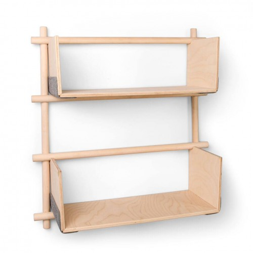 Foldin Wooden Wall Shelf 13