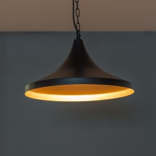 Industrial Black Pendant Light