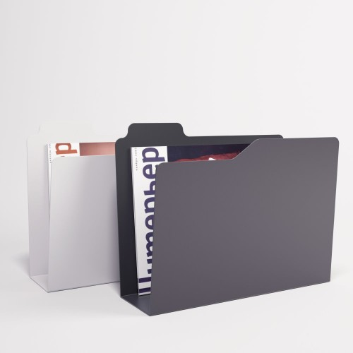 Folder Magazine Rack