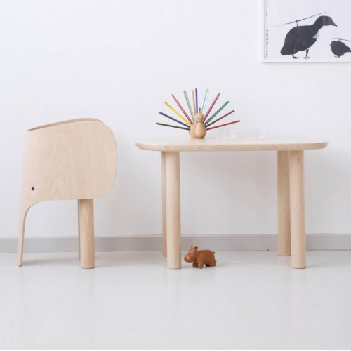 Kids Elephant Table