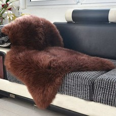 Sheep Hide Rug Brown