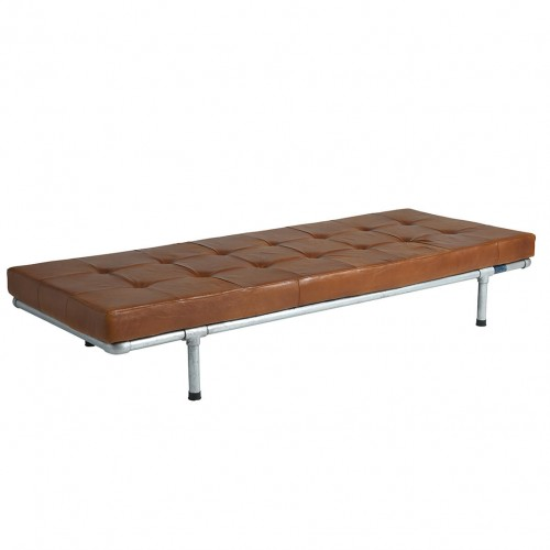 Milan Leather Daybed and Bench