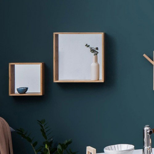 Wall Cube Mirror - Large