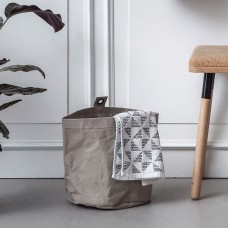Washable Paper Storage Bag, Large - Grey