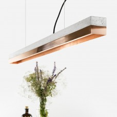 Copper & Concrete Pendant Light 122 [C1]