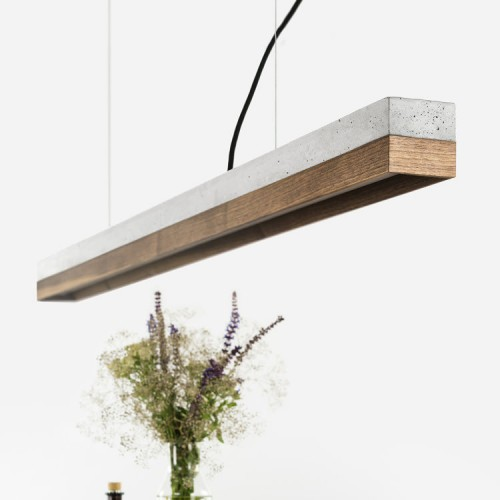 Walnut Pendant Light 122 [C1]