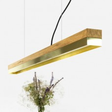 Brass Pendant Light [C1o]