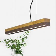 Corten Steel and Oak Pendant Light 92 [C2o]
