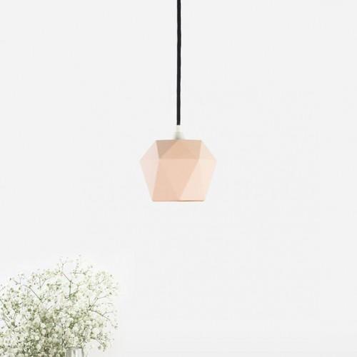 Matte Porcelain Pendant Light [K1]