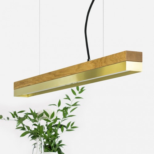 Brass Pendant Light 92 [C2o]